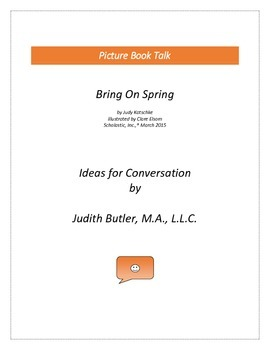 Bring on Spring: Ideas for Conversation