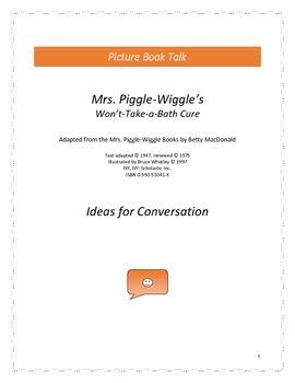 Mrs. Piggle-Wiggle's Won't Take-a-Bath Cure: Ideas for Con