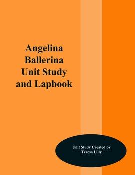 Angelina Ballerina Unit Study and Lapbook