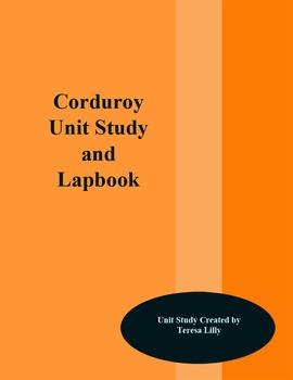 Corduroy Unit Study and Lapbook