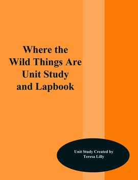 Where the Wild Things Are Unit Study and Lapbook