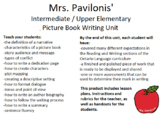 Picture Book Writing Unit for Intermediate / Upper Element