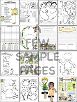 Picture Book and Activities Many, Many, Many People
