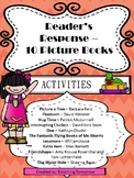Reader's Response - Picture Books Activities