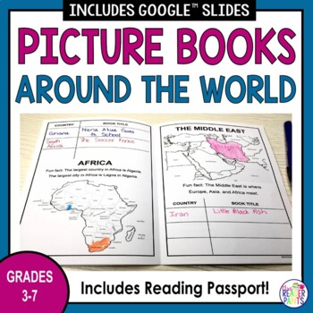 Read Around the World Challenge Set-Up Kit (for upper-elem and MS)