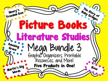 Picture Books Literature Studies Mega Bundle 3