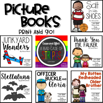 Picture Books PRINT and GO Bundle