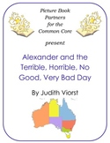 Picture Books for the Common Core:  Alexander and the Terrible Horrible