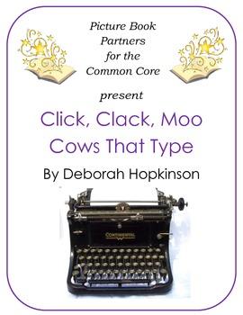 Picture Books for the Common Core:  Click, Clack, Moo Cows