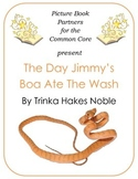 Picture Books for the Common Core:  The Day Jimmy's Boa Ate The Wash