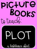 Picture Books to Teach PLOT: A Reference Guide