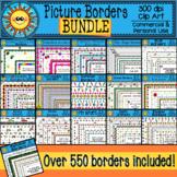 Picture Borders Clip Art Bundle