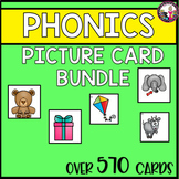Picture Card Bundle for Phonics Work!