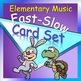 Picture Card Set Bundle—Loud-Soft, High-Low, Fast-Slow