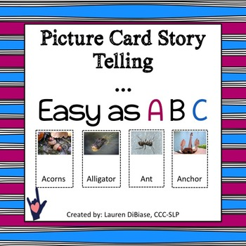 Picture Card Story Telling!