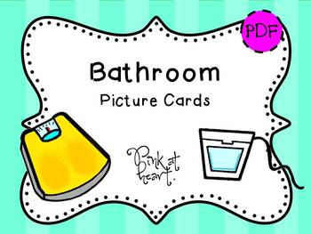 Picture Cards - Bathroom