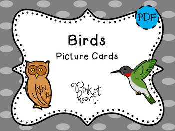 Picture Cards - Birds