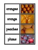 Picture Cards: Fruits and Vegetables