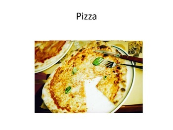 No Print Picture Cards PDF - Foods