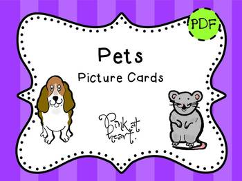 Picture Cards - Pets
