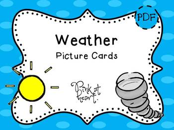 Picture Cards - Weather
