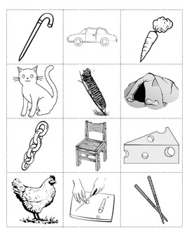 Picture Cards for Phonological Lessons