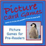 FREE Picture Cards Distance Learning Games for Pre-Readers
