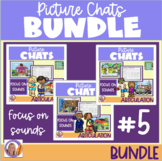 Distance Learning Picture Chat- Bundle #5 Focus on Sounds