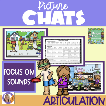 Distance Learning Picture Chat- Focus on Sounds- s,l,r blends