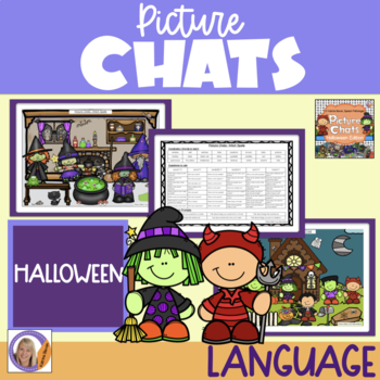 Picture Chats- Halloween Special Edition- Vocabulary, Wh questions & discussion