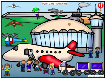 Picture Chat- Transport Themes. Vocabulary, 'wh' questions and discussion