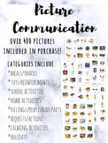 Picture Communication System: Visual Schedule Cards for Autism
