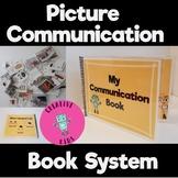 Picture Communication Book- PECS, Communication Board Starter Set