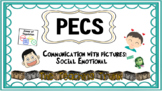Picture Communication Social Emotional Pictures and Charts **Editable ppt file**