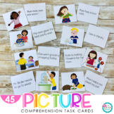 Picture Comprehension Cards {Build Beginning Comprehension}