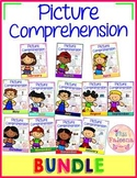 Picture Comprehension Cards and Worksheets Growing Bundle