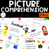 Picture Comprehension- Fall  (for students with Special Needs)