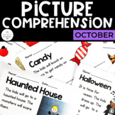 Picture Comprehension- Halloween and October for Special Education