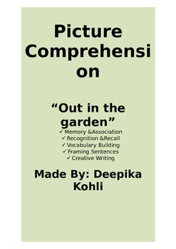Picture Comprehension -Out in the Garden