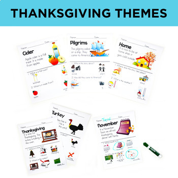 Picture Comprehension- Thanksgiving (for students with Special Needs)