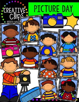 Picture Day {Creative Clips Digital Clipart}