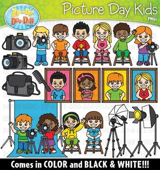 Picture Day Kids Clipart {Zip-A-Dee-Doo-Dah Designs}
