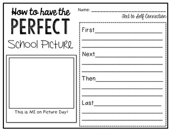 Picture Day Perfection {A Book Companion}