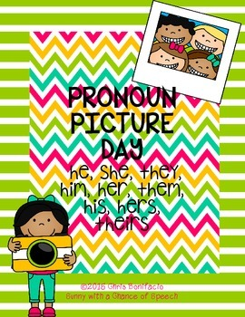 Picture Day Pronouns