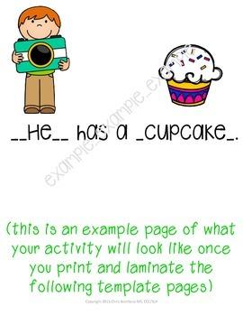 Picture Day Pronouns