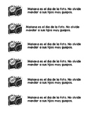 Picture Day Reminder (English & Spanish)