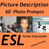 ESL Picture Description:50 Photo Prompts