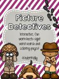 Picture Detectives - Kindergarten Pre-Primer Sight Word Wo