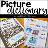 Picture Dictionary for Vocabulary Management and Tracking