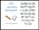 My Writing Picture and Sight Word Dictionary